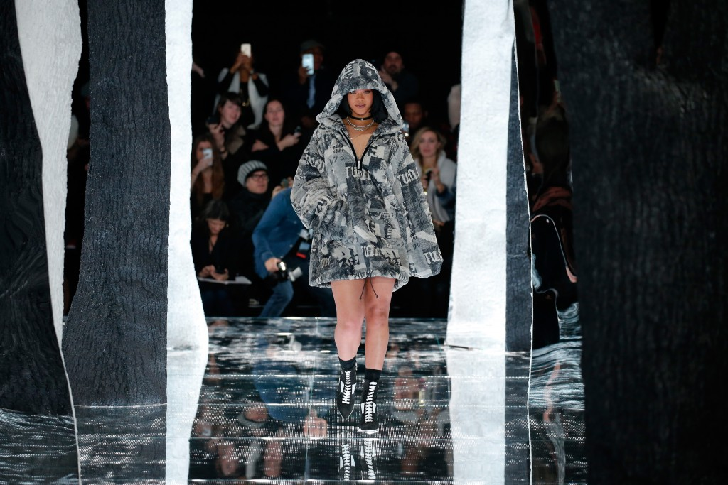 Puma by rihanna kollektion f r herbst winter 2016 for Boden preview herbst 2016