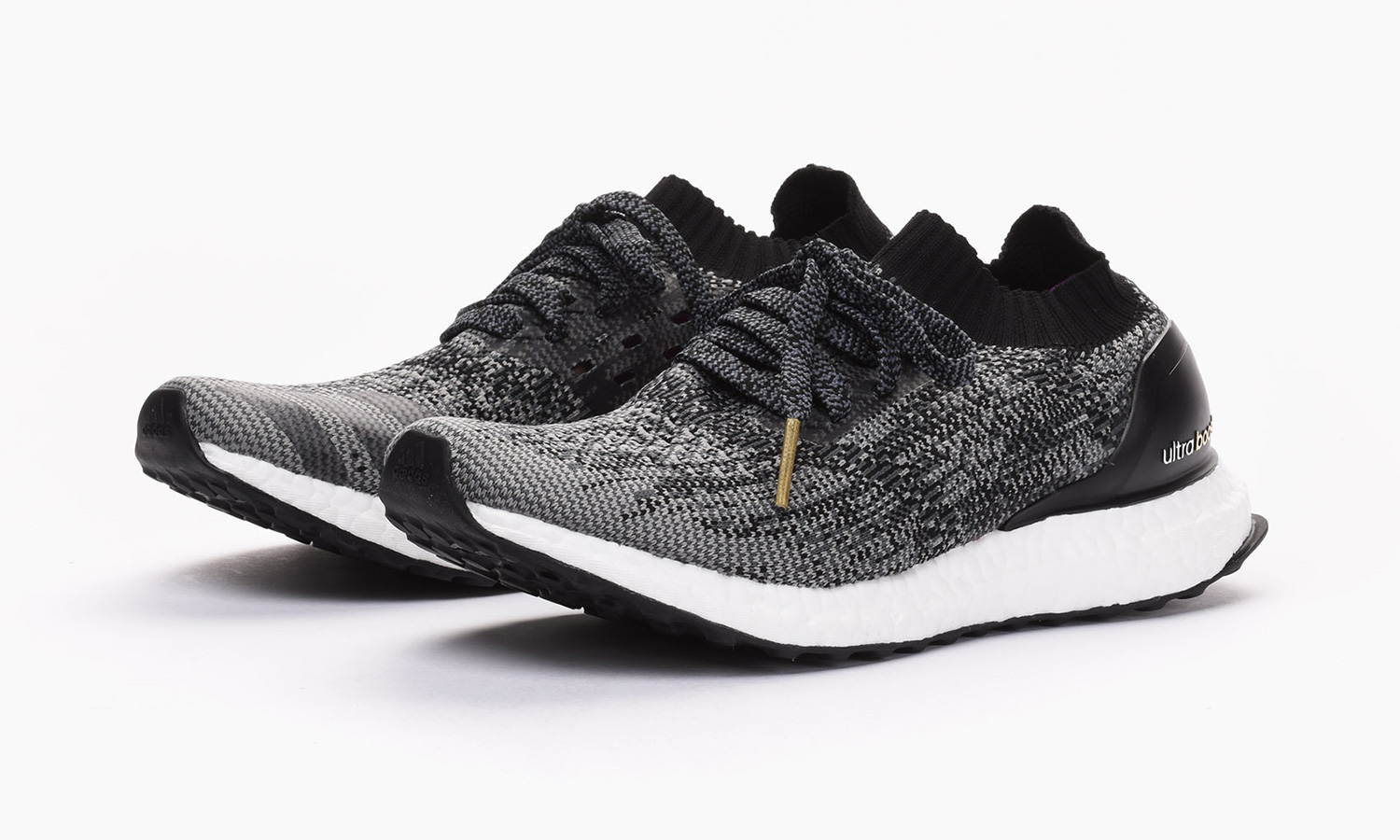 Ultra Boost Black Gold Metallic Shoes