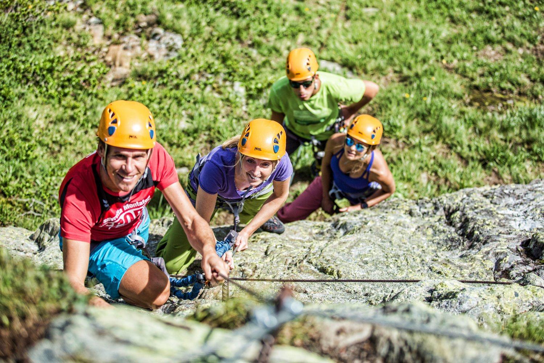 Klettersteig Madrisella : Silvretta montafon klettersteig madrisella willya magazine