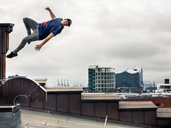 Jason Paul Freerunning