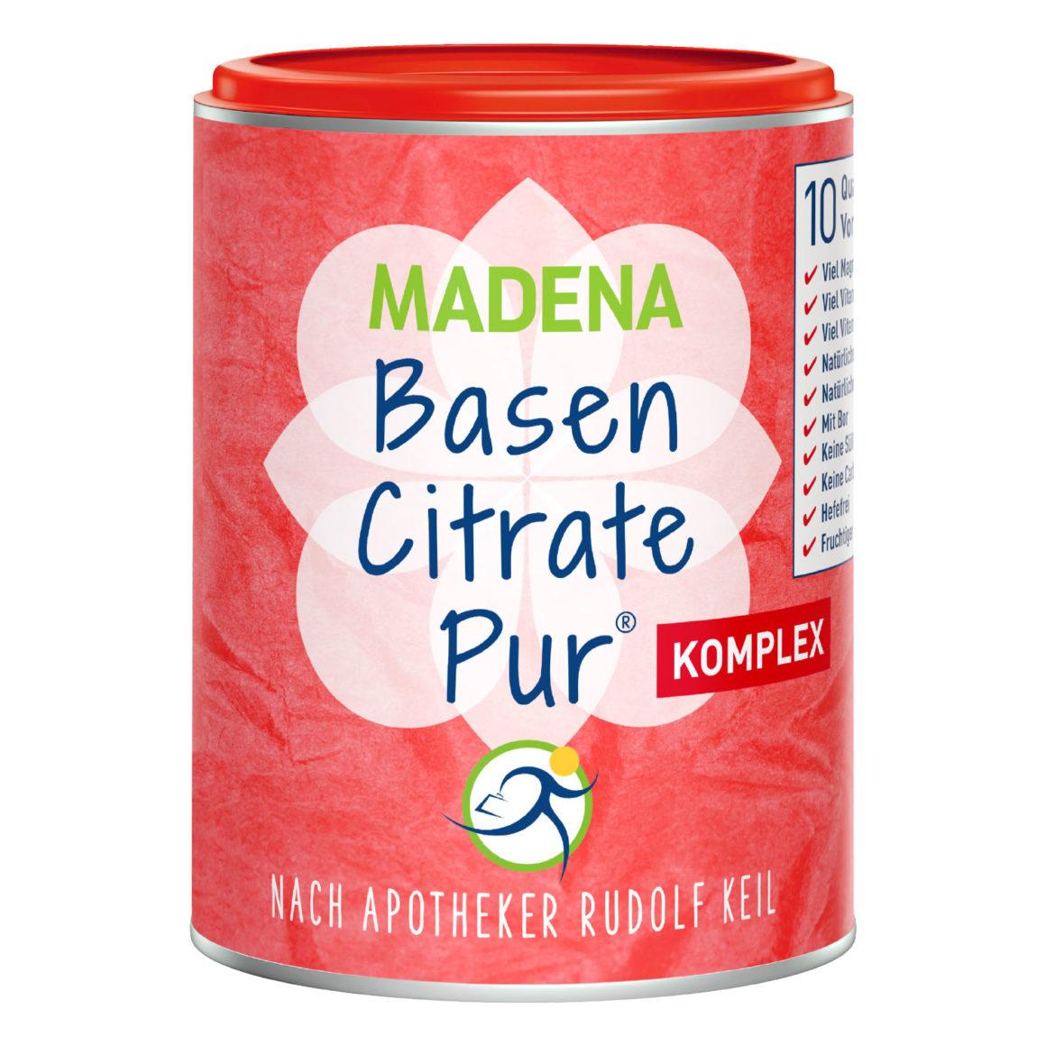 Madena Basen Citrate Pur Komplex